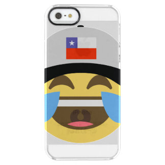 Chile Hat Laughing Emoji Clear iPhone SE/5/5s Case