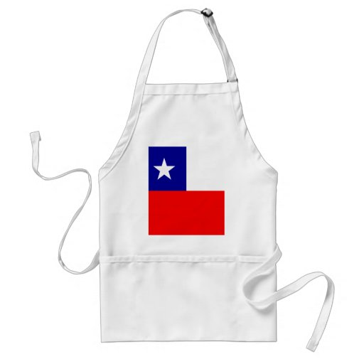 Chile High quality Flag Apron