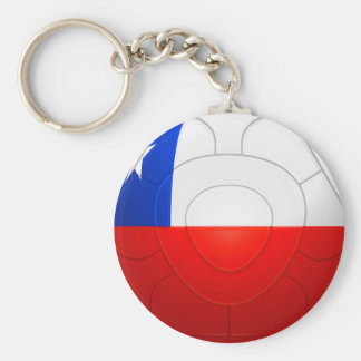 Chile - La Roja Football Keychain