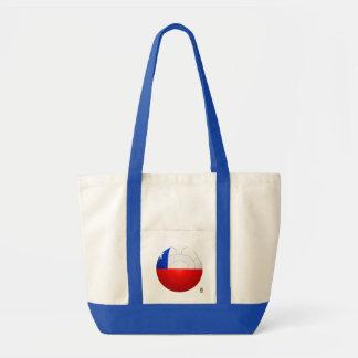 Chile - La Roja Football Tote Bag