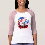 Chile La Roja grunge art soccer futbol gifts Shirt