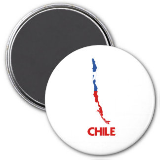 CHILE MAP MAGNET