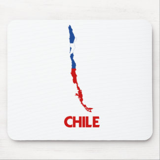 CHILE MAP MOUSE PAD