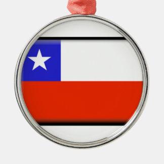 Chile Metal Ornament