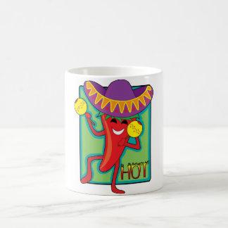 Chile mexicano taza clásica