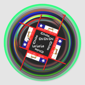 Chile Miners Classic Round Sticker