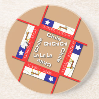 Chile Miners Drink Coasters