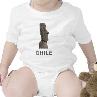 Chile Moai Tee Shirts