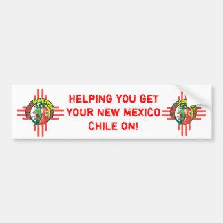 Chile Monster Bumper Sticker