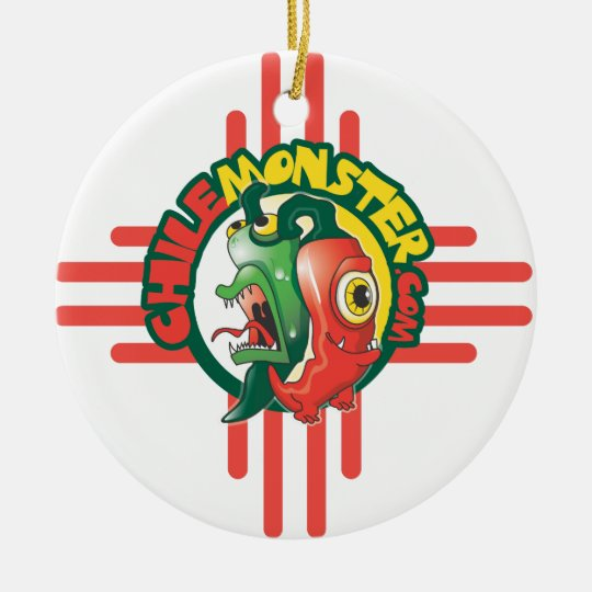 Chile Monster Holiday Ornament