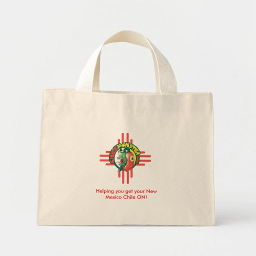 Chile Monster Tote Canvas Bag
