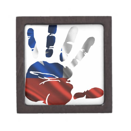 CHILE NICE HAND FLAG PRODUCTS PREMIUM GIFT BOX