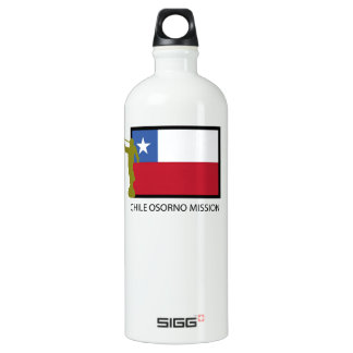 Chile Osorno Mission LDS CTR Aluminum Water Bottle
