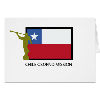 Chile Osorno Mission LDS CTR Card