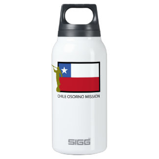 Chile Osorno Mission LDS CTR Insulated Water Bottle