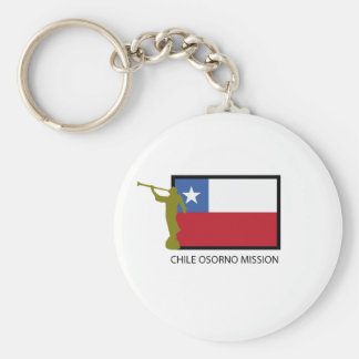 Chile Osorno Mission LDS CTR Keychain