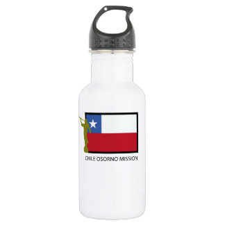 Chile Osorno Mission LDS CTR Stainless Steel Water Bottle