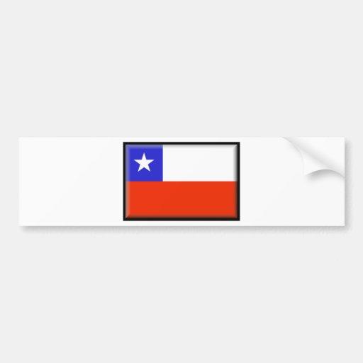 Chile Pegatina Para Auto