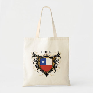 Chile [personalize] budget tote bag