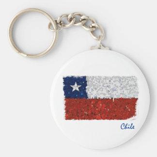 Chile Pintado Llavero Redondo Tipo Pin