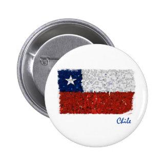 Chile Pintado Pin Redondo 5 Cm