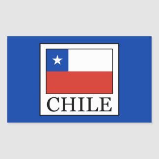 Chile Rectangular Sticker