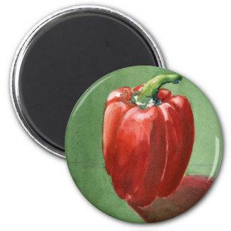 Chile Rojo Grande Refrigerator Magnets