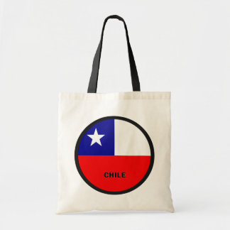 Chile Roundel quality Flag Tote Bag
