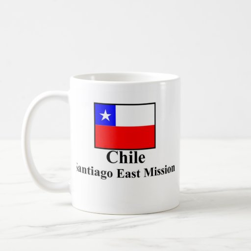 Chile Santiago East Mission Drinkware Classic White Coffee Mug