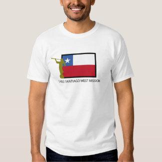 Chile Santiago West Mission LDS CTR T Shirts