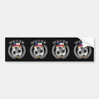 Chile Soccer 2016 Fan Gear Bumper Sticker