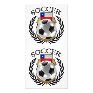 Chile Soccer 2016 Fan Gear Card