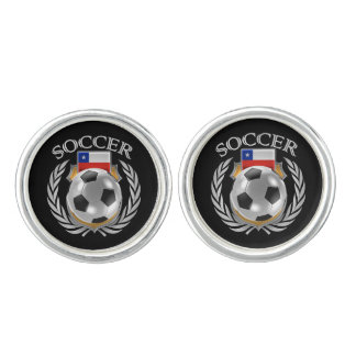 Chile Soccer 2016 Fan Gear Cufflinks