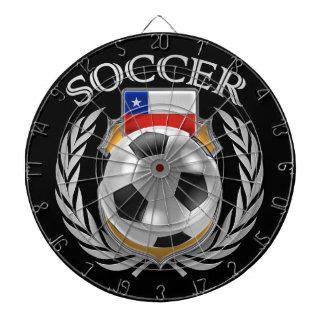 Chile Soccer 2016 Fan Gear Dart Boards
