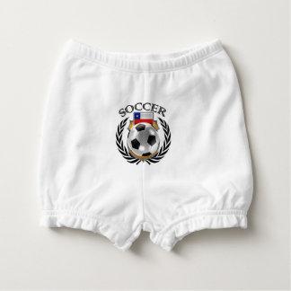 Chile Soccer 2016 Fan Gear Diaper Cover