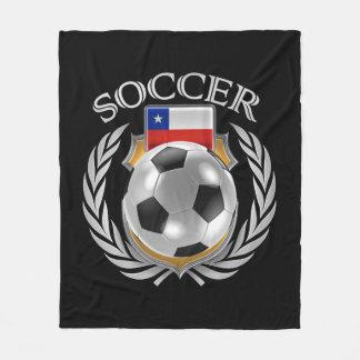 Chile Soccer 2016 Fan Gear Fleece Blanket