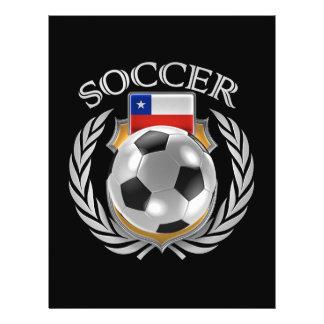 Chile Soccer 2016 Fan Gear Flyer