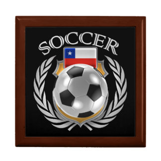 Chile Soccer 2016 Fan Gear Jewelry Box