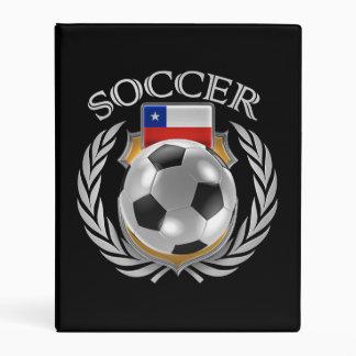 Chile Soccer 2016 Fan Gear Mini Binder