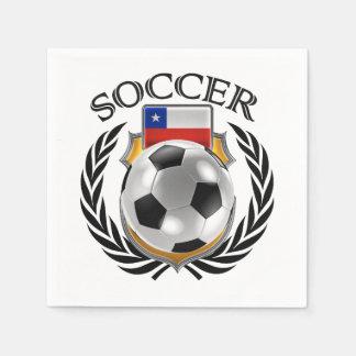 Chile Soccer 2016 Fan Gear Napkin