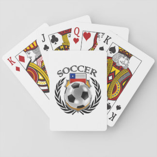 Chile Soccer 2016 Fan Gear Playing Cards