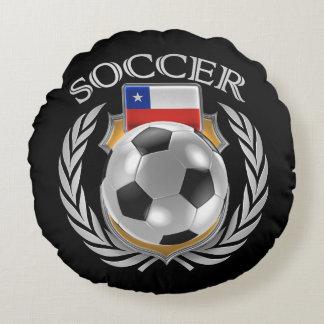 Chile Soccer 2016 Fan Gear Round Pillow