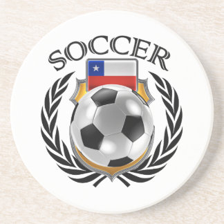 Chile Soccer 2016 Fan Gear Sandstone Coaster