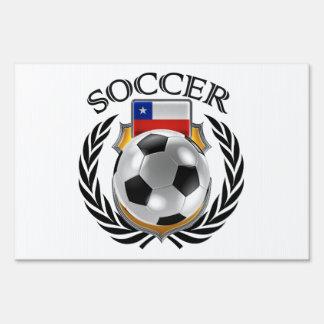 Chile Soccer 2016 Fan Gear Sign