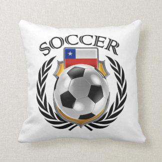 Chile Soccer 2016 Fan Gear Throw Pillow