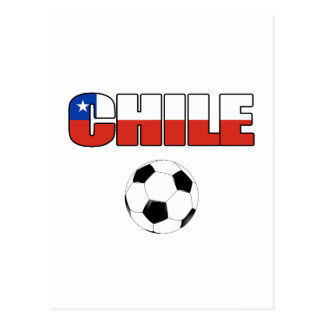 Chile Soccer 4557 Postcard