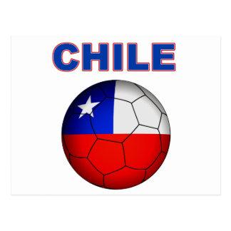 Chile Soccer 5025 Postcard