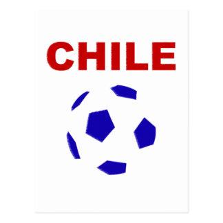 Chile Soccer 5443 Postcard