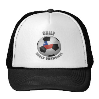 CHILE SOCCER CHAMPIONS HATS