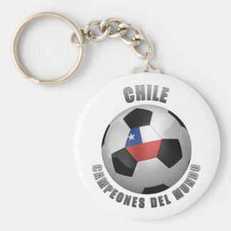 CHILE SOCCER CHAMPIONS KEYCHAIN